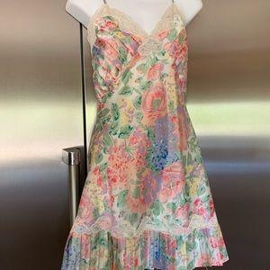Victoria's Secret slip nightgown & robe